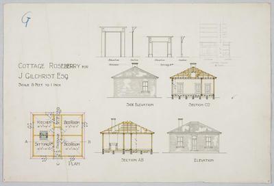 Cottage Roseberry for J Gilchrist Esq