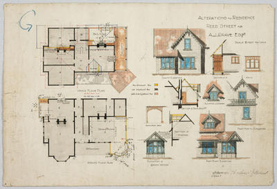 Alterations to Residence Reed Street for A J Grave Esq