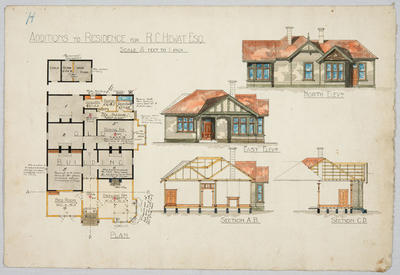Additions to Residence for R C Hewat Esq