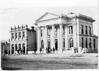 Empire Hotel, Bank of Otago, early 1870s
