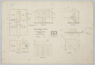 Proposed Additions to Dwelling for D H Jennings Esq