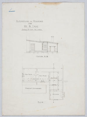 Alterations to Residence for Mr N Lane