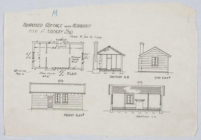 Proposed Cottage near Herbert for A Mackay Esq
