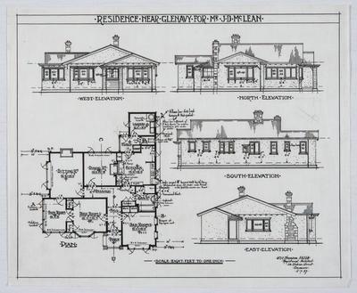 Residence near Glenavy for Mr J D McLean