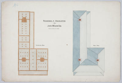 Residence near Ashburton for John McLean Esq