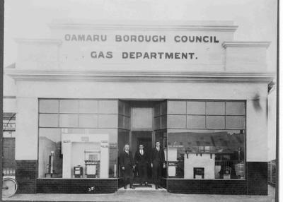Oamaru Borough Council Gas Department showroom, Wear Street,
