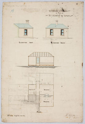 Additions to Residence for H J Millar Esq, Oamaru