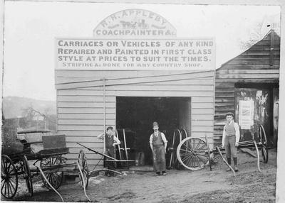 R H Appleby, coachpainter, Wansbeck Street