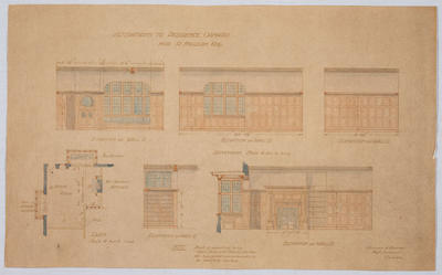 Alterations to Residence Oamaru for R Milligan Esq