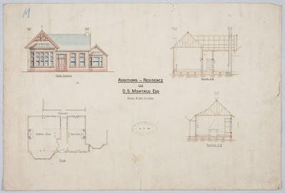 Additions to Residence for D S Montagu Esq