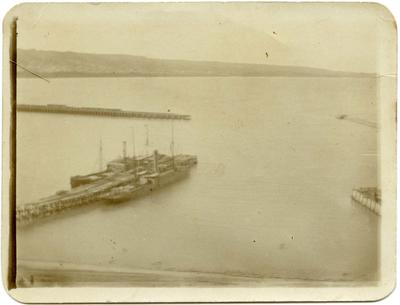 Boats at Sumpter Wharf, Oamaru Harbour