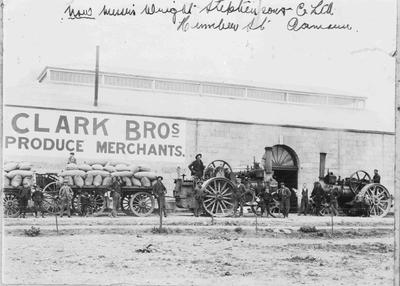 Clark Bros, produce merchants, Humber Street