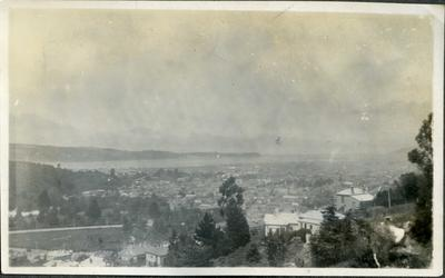 View of Dunedin from Gladstone Road