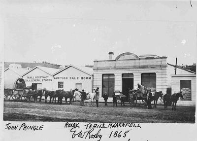Traill, Roxby & Co. Tyne Street Oamaru