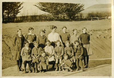 Merton School pupils