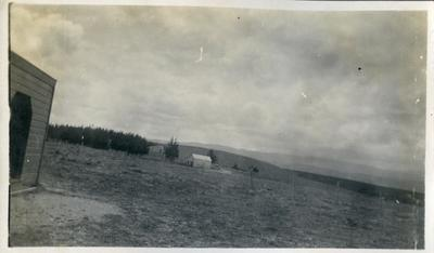 Rural scene, unidentified