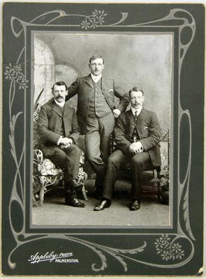 Three young men