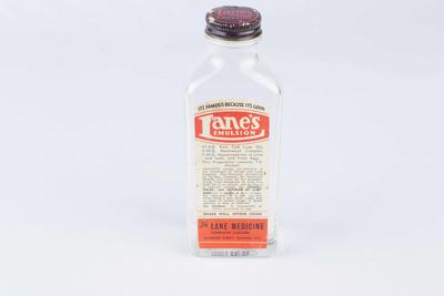 Lane's Emulsion bottle