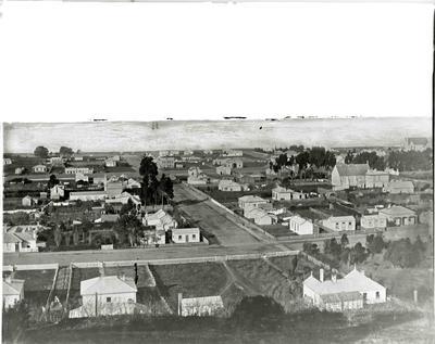 Ribble Street Oamaru 1878