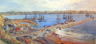 Untitled (Oamaru Harbour 1880)