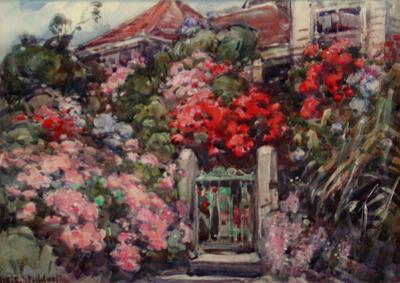 House in a Summer Garden