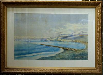 Untitled (Oamaru Harbour Looking South)