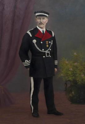 James, William Richards. Oamaru Fire Brigade 1887-1920. Superintendent 1909-1920.