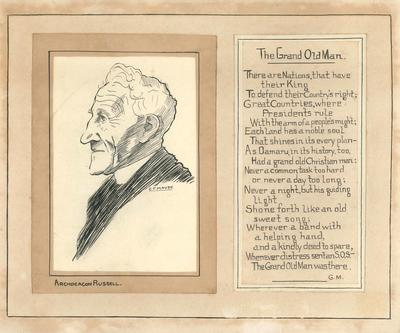 Russell, J D. Archdeacon; Meek, George (b.1881, d.1953); Maude, Cyril Fairfax (b.1914, d.1987); 2017/002.52