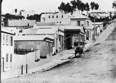 Wansbeck Street facing west; 193P