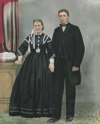 Doak, Mr & Mrs William. Alma