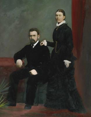 Henry Francis & Ellen Gillett; 2017/002.47