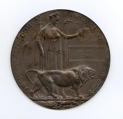 Memorial Plaque (medallion)