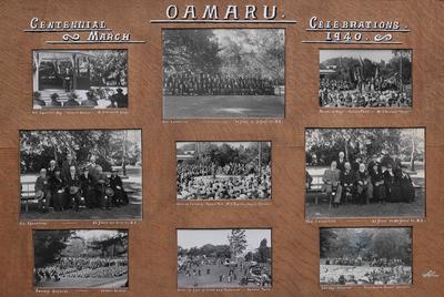 Oamaru Centennial Celebrations March 1940