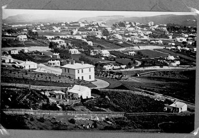 Elevated View looking west, Oamaru