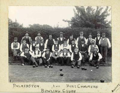 Palmerston and Port Chalmers Bowling Clubs members.