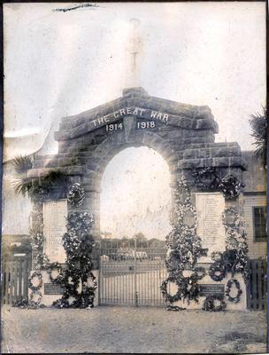 Soldiers' Memorial - The Great War, Palmerston, Otago, N.Z.