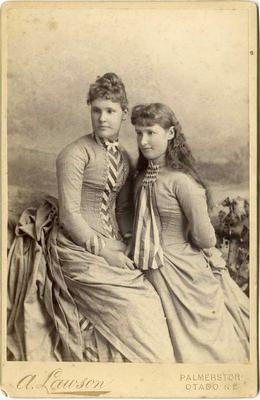 Jessie Millar and sister Mrs Cameron (Rory)
