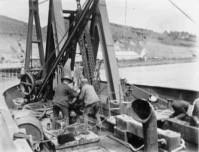 Dredge Progress at Oamaru Harbour
