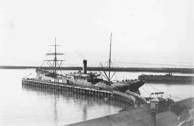 Sumpter Wharf, Oamaru Harbour