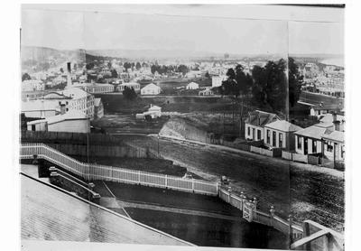 Wharfe Street, Oamaru. Part of Panorama