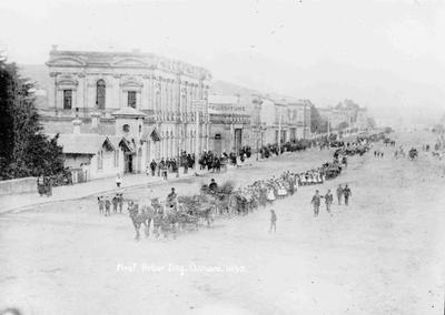 First Arbor Day Oamaru 1893