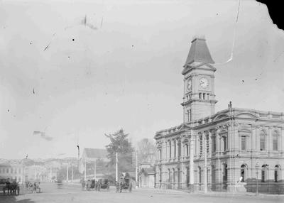 Old Oamaru Post Office, Thames Street c1903