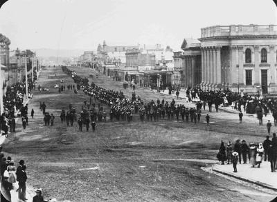 Seafield, Earl of.  Funeral procession, Thames Street