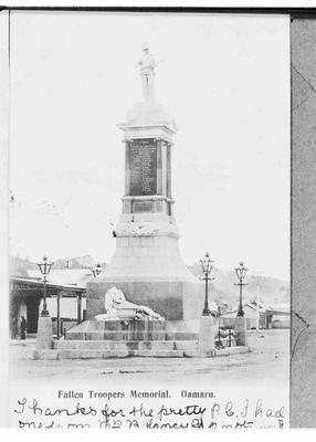 Troopers Memorial, Thames Street