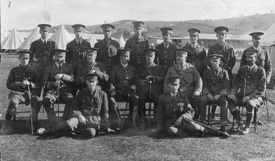 Otago Regiment at Oamaru Showgrounds