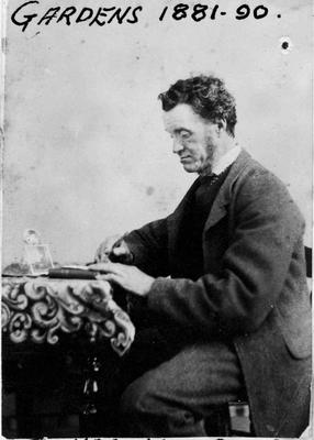 James Kidd, Curator of Oamaru Gardens 1876 - 1881.