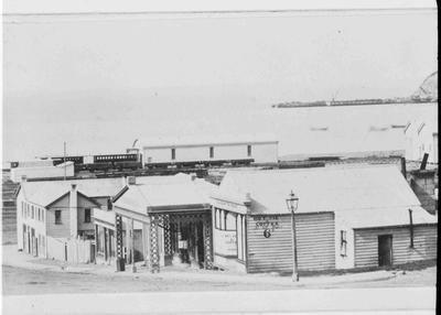 View from Wansbeck Street; Photographer: H Burton (b.1875, d.1877); 1032P