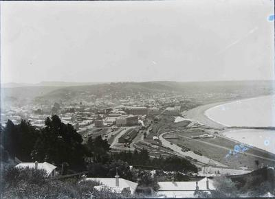 Oamaru view from Cape Wanbrow