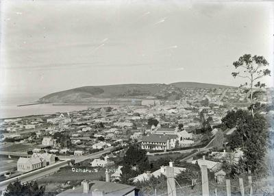 Oamaru view looking south east