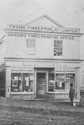Oamaru Times and Waitaki Reporter building